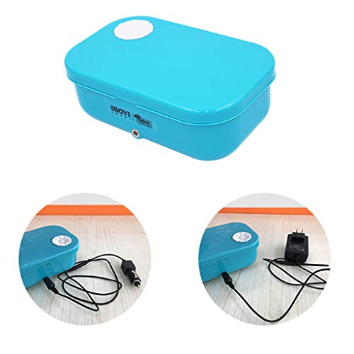 Portable USB Heating Lunch Box, Multifunctional Electric Lunch Box For Car And Home 12V, Food Storage Warmer With Stainless Steel Removable Container