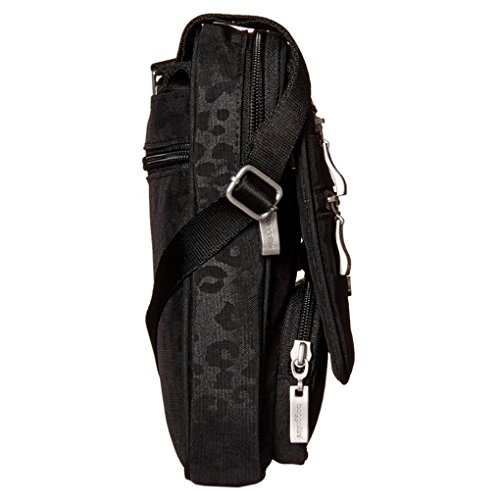ghepardo tracolla Bag a Organizer Travel nera Baggallini Borsa qt4RBnn