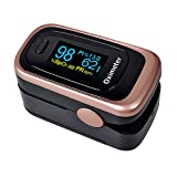 Pulse Oximeter Fingertip Blood Oxygen Saturation Monitor FDA Approved for Children & Adult