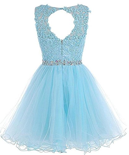 Dresses Dydsz Short Women's Beaded Grape Party Homecoming Prom Cocktail D126 Appliques Dress qw6aOTngwX