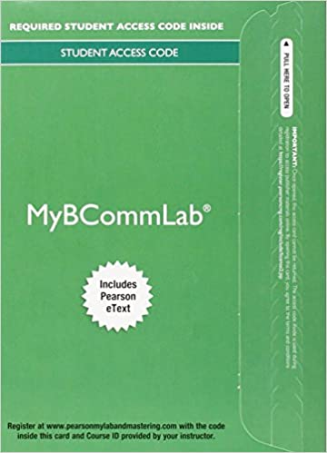My bcomm lab