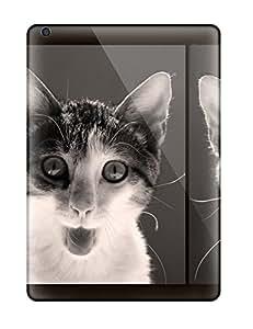 Slim Fit Tpu Protector Shock Absorbent Bumper Cat Selfies Case For Ipad Air