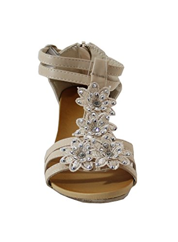 By Shoes - Sandalias para Mujer Beige
