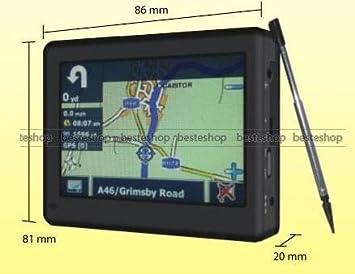 GPS,Navigation,Sat Nav,SatNav,Euro Map+Sd Camera: Amazon.co.uk ... on