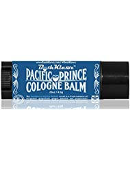 Pacific Prince Solid Cologne Balm Fragrance Fresh Balanced Midnight Ocean Breeze Aquatic Scent for Men - Best Aquatic Scent Solid Alcohol Free Cologne for travel Best Gift for Men