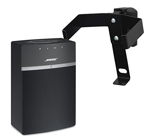 Bose SoundTouch 10 Wireless Speaker with SoundXtra Wall Mount, Black