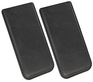 Funda para ZOPO ZP990+/funda piel Carcasa Sleeve Funda Case Piel Smartphone Móvil Cover Funda Cartera Funda de piel en negro