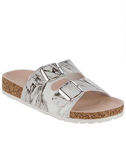 rof-womens-slip-on-marble-effect-side-buckle-lug-sole-sandals-white-multi-7