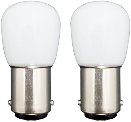 MZMing [2 Pack] Bombilla LED B15 1.5W en lugar de 15W 2700K ...
