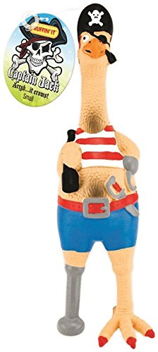 RHODE ISLAND TEXTILE 80528-1 Capt Jack Pet Toy, Small