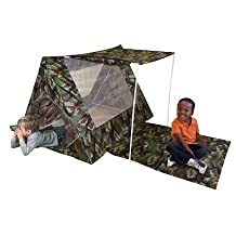 Kid's Adventure Camo Fort Play Tent Set toy gift idea birthday by Kid's Adventure Camo Fort Play Tent Set toy gift i