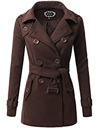 Amazon.com: Brown - Wool & Blends / Wool & Pea Coats: Clothing ...