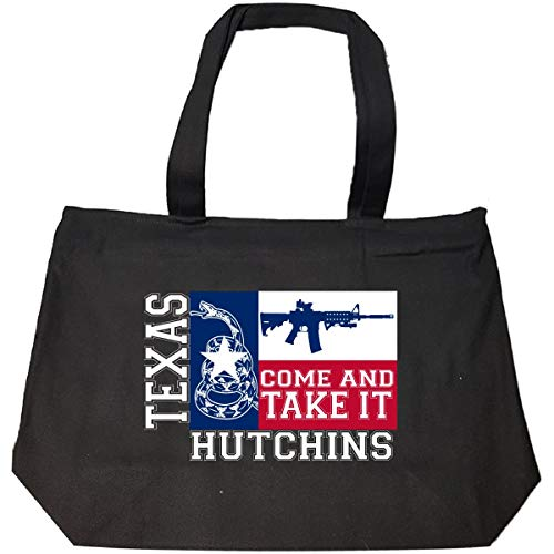 Hutchins Texas Come And Take It Ar15 - Tote Bag With Zip ()