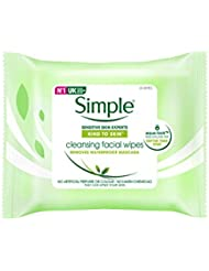 Simple Kind to Skin Cleansing Facial Wipes (25) - Pack of 6