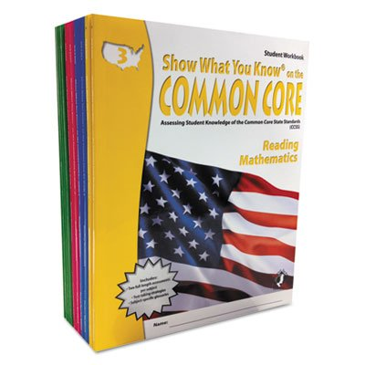 Common Core Assessment Reference Kit, Math/reading, Grades 3-6, 1280 Pages By: Show What You Know by Show What You Know