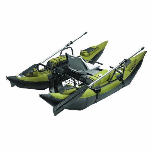 Classic Accessories Colorado Inflatable Pontoon Boat With