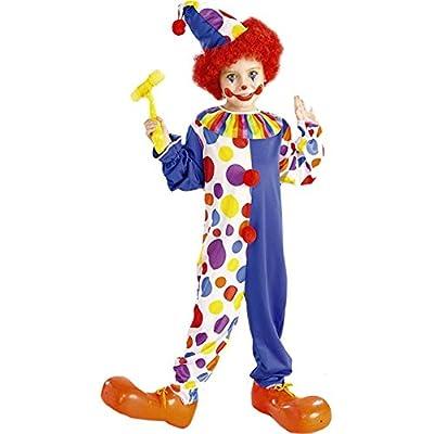 Forum Novelties Clown Child's Value Costume