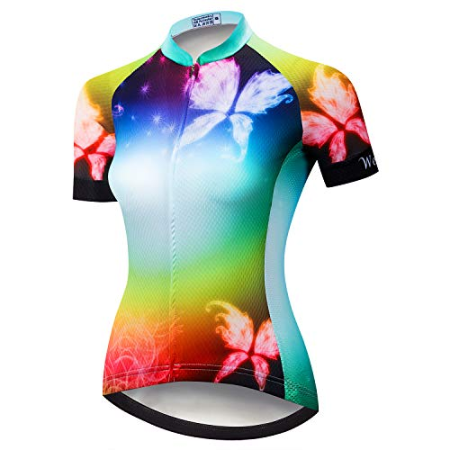 Cycling Jersey Women Short Sleeve Bike Shirt Racing Bicycle Jacket Clothing Tops