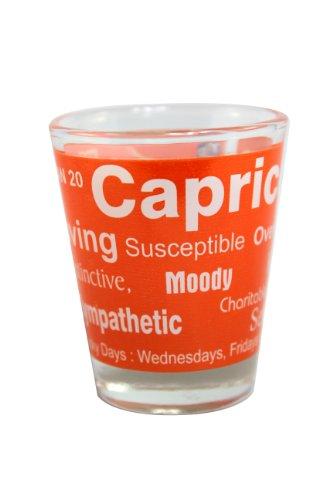 Shot Glass Zodiac Sign - Capricorn (Dec 23 - Jan 20)
