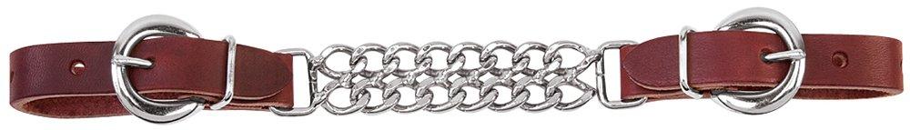 Spedizione gratuita per tutti gli ordini Weaver cuoio cinturino cinturino cinturino imbracatura di cuoio doppio supporto di catena di collegamento Curb, Bordeaux  consegna veloce
