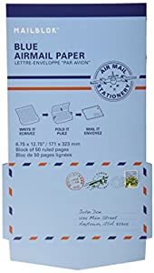 Airmail writing paper