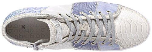 Bugatti Women's 422291325959 Hi-Top Trainers, Silver/Blue Silver (Silver / Blue 1340)