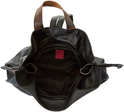 Backpack Munich Black portés Noir Walked Sacs dos Zx1qaAdx