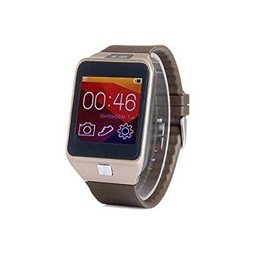 Sut V8 teléfono mtk2501 reloj inteligente 1.54 pulgadas para el iphone android: Amazon.es: Electrónica