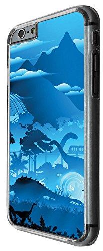1315 - Cool Fun Trendy cute kwaii dinosaur prehistoric t-rex Design iphone 5C Coque Fashion Trend Case Coque Protection Cover plastique et métal - Clear