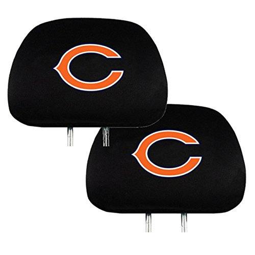 Official National Football League Fan Shop Authentic Headrest Cover (Chicago  Bears)