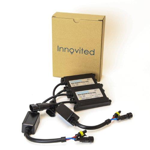 Innovited 2pcs 55w Ac HID Slim Digital Replacement Ballast Universal Fit - Internal Ballast