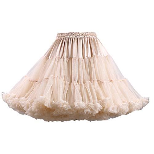 Tulle Pettiskirt Image Varies Tutu Jupon Jupe Comme Femme YAANCUNN Court en Couleurs 11 Ballet q804Fx7w