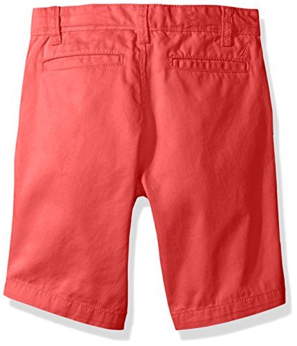 Large Product Image of Nautica Big Boys' Flat Front Short, Felton Ruby, 8
