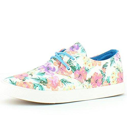 Heavenly Feet  Heavenly Feet Alexa White Floral Shoes, Damen Sneaker Weiß/Blumen