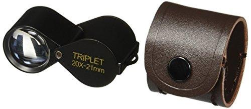 SE MJ32021BR 20 x 21mm Professional Round Triplet Jeweler...