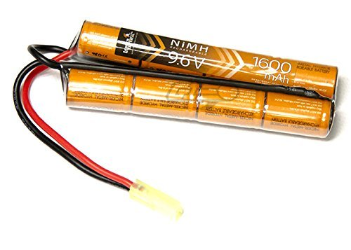 Lancer Tactical 9.6v 1600mAh NiMH Nunchuck Battery by Lancer Tactical