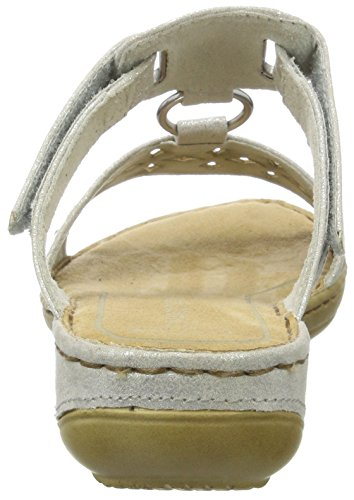 Blanc Femme Metallic Bout Marco 151 Ouvert Sandales White Tozzi 27501 qWRfc1f4