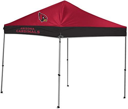 NFL Instant Pop-Up Canopy Tent with Carrying Case, 9x9, Arizona Cardinals