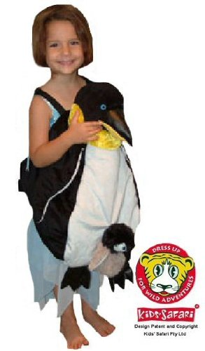 Safari Plush Costume Emperor Penguin- One Size