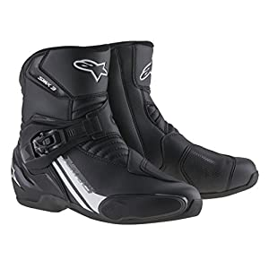 Alpinestars S-MX 3 Street Riding Motorcycle Boots Black Mens Size 9