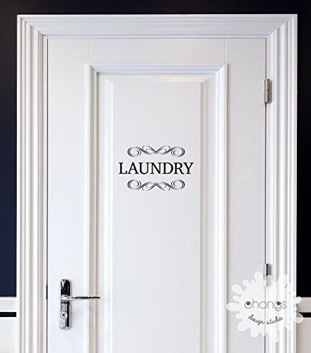 Laundry Decal / Door Decal / Pantry Door