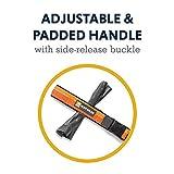 RUFFWEAR, Roamer Dog Leash, Adjustable Stretch Lead for Running, Orange Sunset, Large