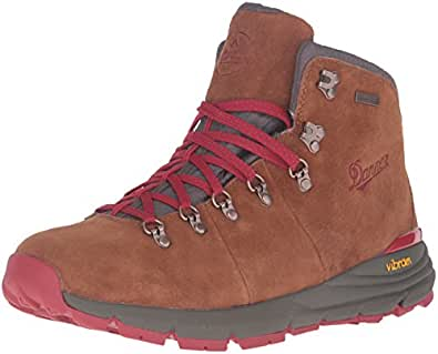 "Danner Men's Mountain 600 4.5"" Hiking Boot Brown/Red 7 D US"