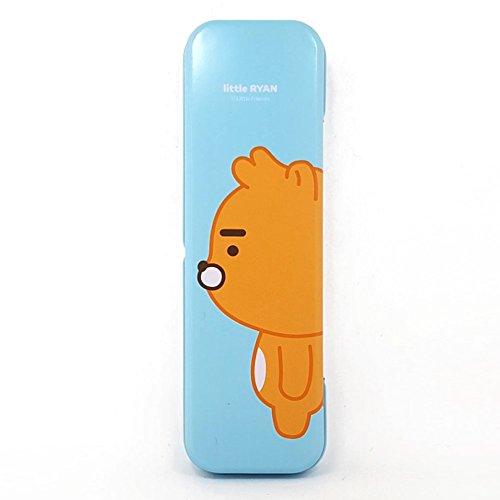 Kakao Little Friends Tin Pencil Case, Storage containers, Pen box, Pencil case (Ryan)