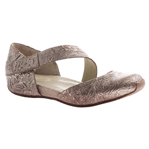 OTBT Women's Pacific City Mary Jane Flat, Light Pewter, 6.5 M US by OTBT