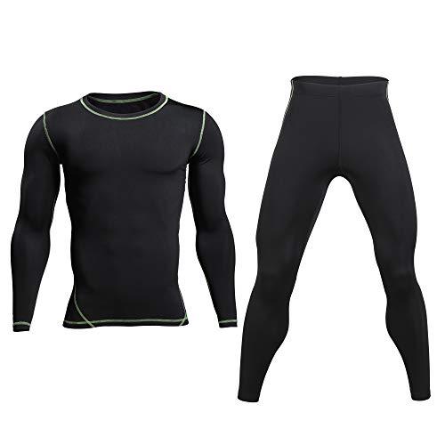 Base Layer Top Bottom - Mens Thermal Underwear Winter Long Johns ()