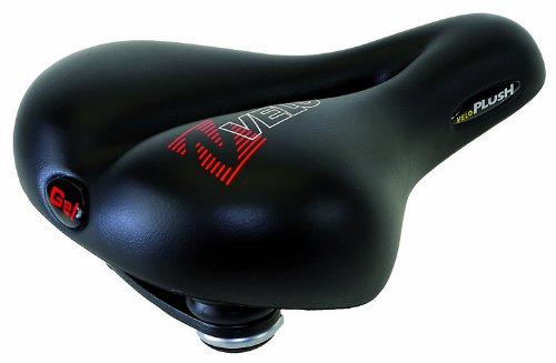 - Velo Vacuum Plush Elasto Gel Saddle