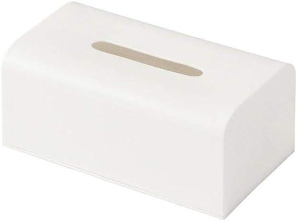 Mingstong Caja de pañuelos-Caja de pañuelos de plástico Caja de pañuelos de Coche Familiar Cuadrada, A, 186x188x93 mm: Amazon.es: Hogar
