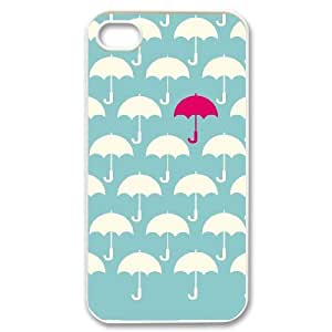 JCCFAN Cute Umbrella Phone Case For Iphone 4/4s [Pattern-4]