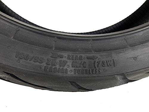 CONTINENTAL MOTION Tire Set 120/70zr17 Front & 180/55zr17 Rear 180 55 17 120 70 17 2 Tire Set by Continental (Image #2)